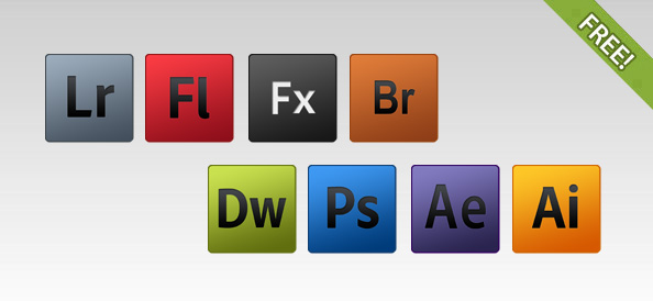 8 Free Adobe Product Icons