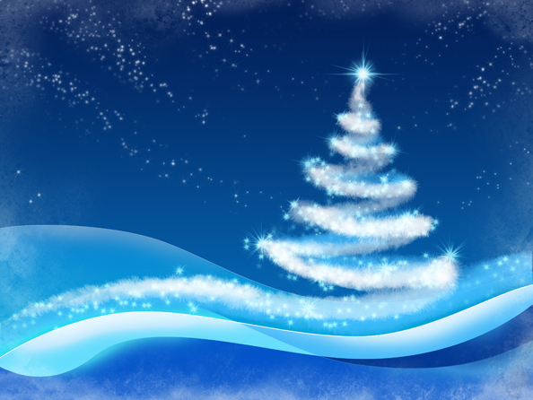 Snowy Winter Backgrounds at FreePsdFiles.net