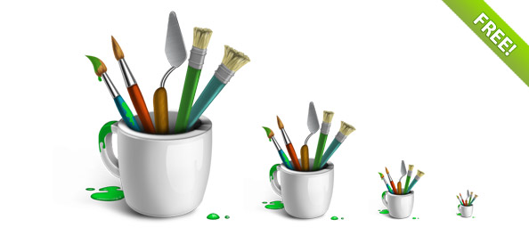 http://static.freepsdfiles.net/uploads/2011/04/sweet_brushes_in_cup_preview.jpg