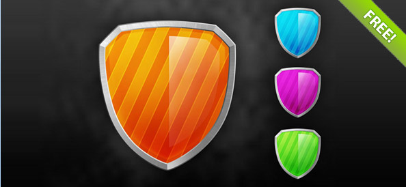 http://static.freepsdfiles.net/uploads/2011/10/Free_PSD_Shield_Icons_Preview_Small.jpg