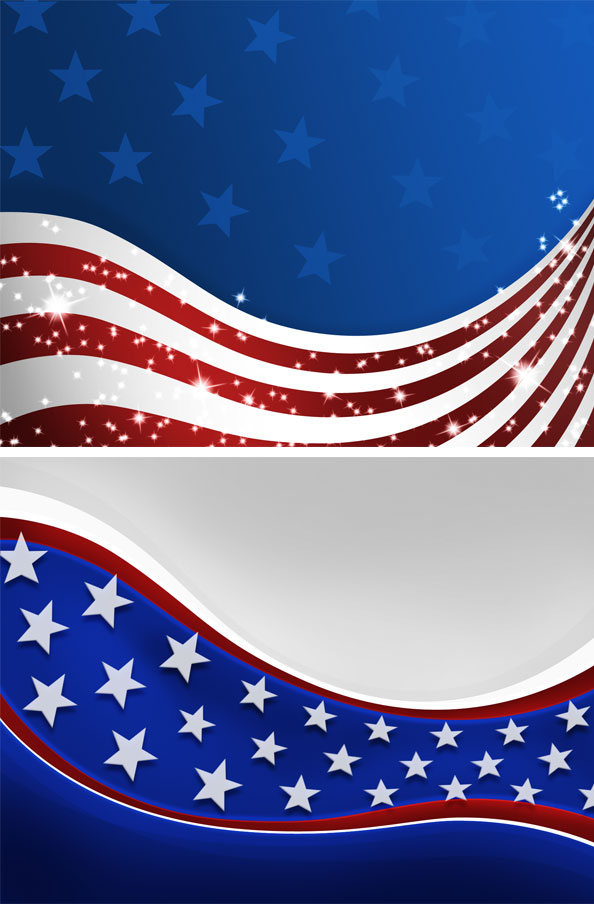 usa flags psd american patriotic set free psd files