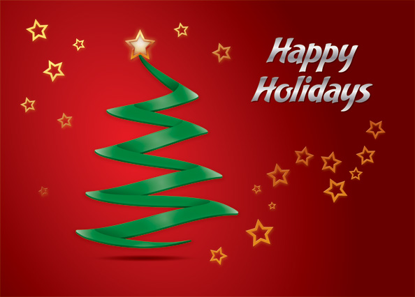 Holiday greeting card free psd files m4hsunfo