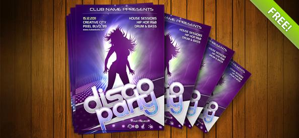 PSD Poster Night Club cực đẹp