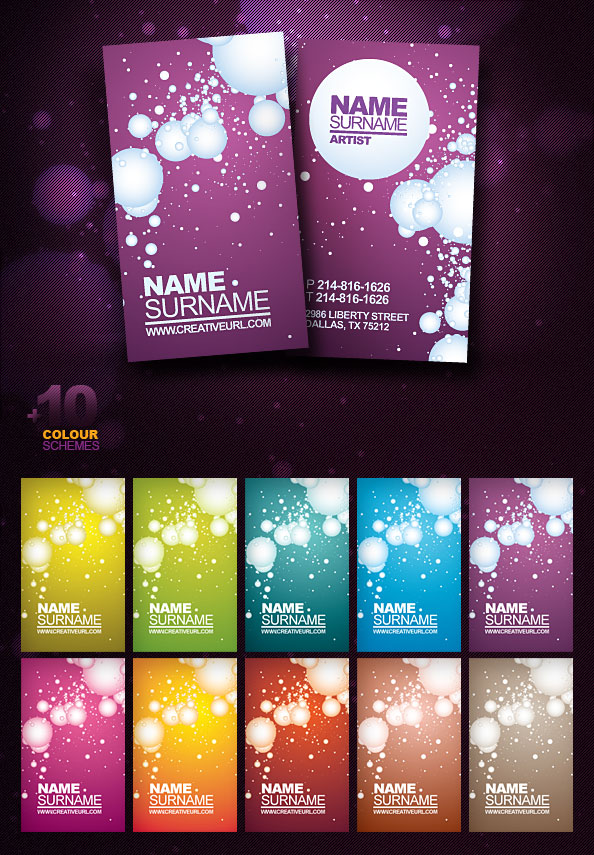 Free PSD Business Card Template - Free PSD Files