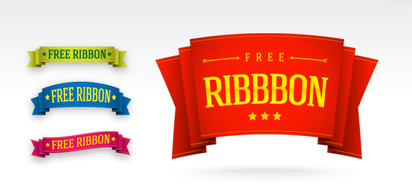 http://static.freepsdfiles.net/uploads/2012/06/5_Free_Ribbon_Templates_Preview_Small.jpg
