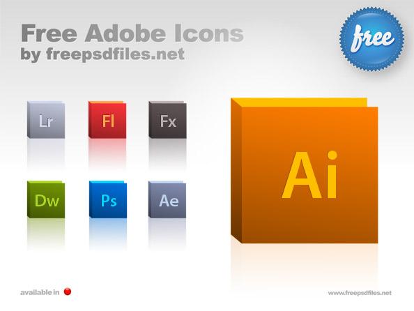 Psd Icon Sets Adobe Icon Set Free Psd