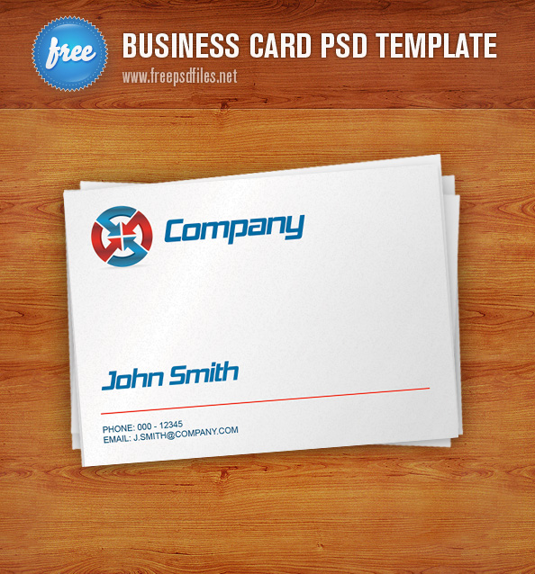 Business Card PSD Free PSD Files