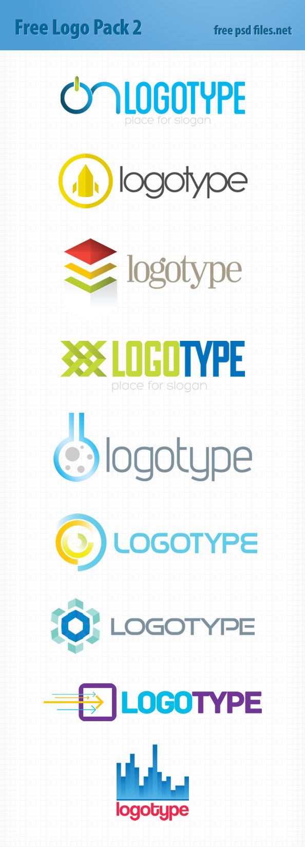 Logo Design Templates Pack 2 Preview Big