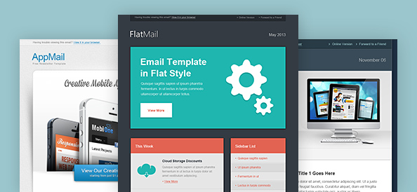 Email marketing templates archives free psd files for Free promotional email templates