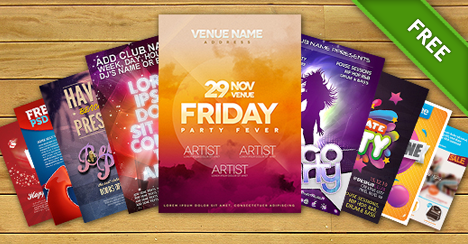 Free PSD Files  Free Templates Flyer