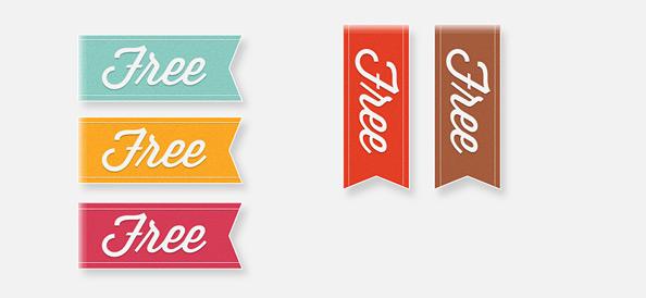 5 Simple Ribbon Templates