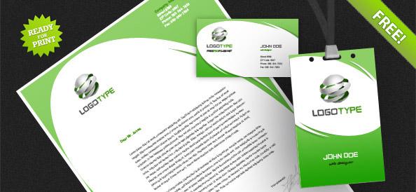 Корпоративная идентичность PSD Пакет 4