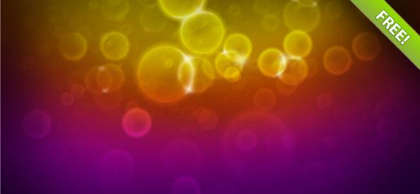 Набор абстрактных фонов с бликами (боке)