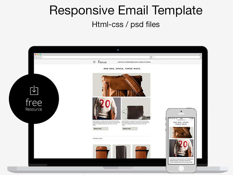 30 Free Psd Email Templates And Newsletter Designs