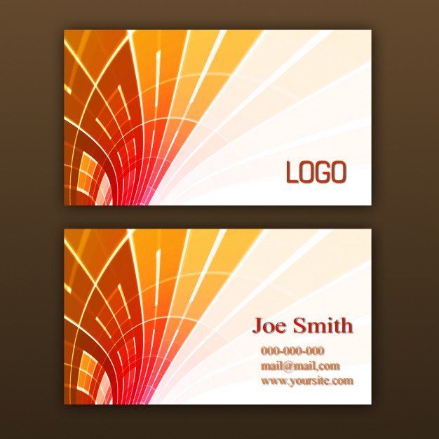 Abstract free psd business card templates wajeb Images