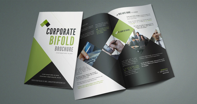 12 attention grabbing bi fold brochure free psd templates