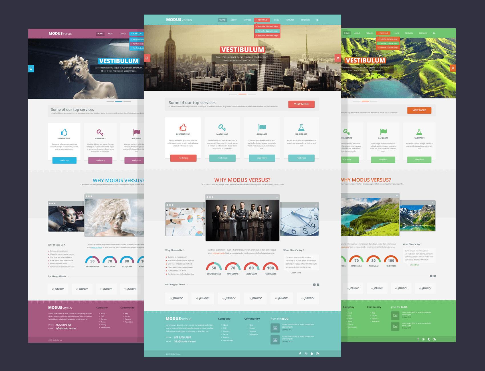 website design templates free