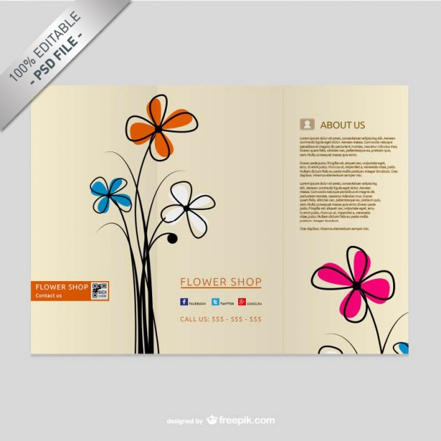 TriFold Brochure Free PSD Templates Grab Edit Print - Trifold brochure template psd