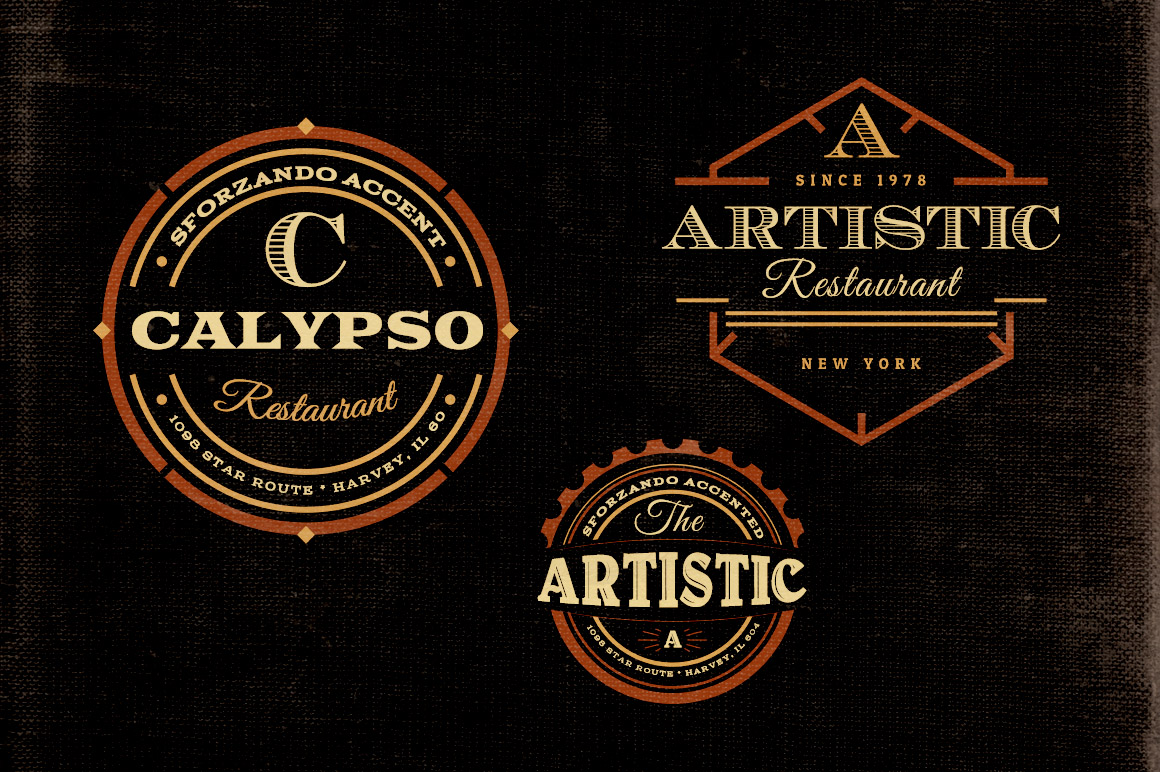 50+ free psd vintage resources (badges, logos and more) - free psd files