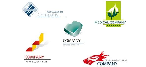 30 free psd business logo templates to nourish success