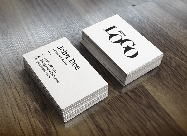 20 free psd business card mockup templates free psd files reheart Gallery
