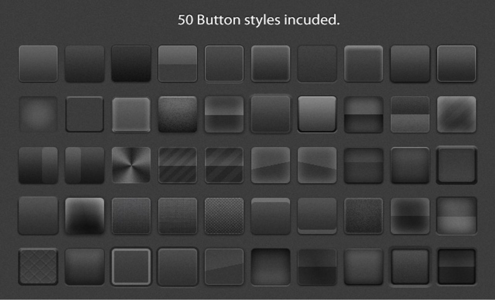 100  free psd glossy buttons for shiny designs